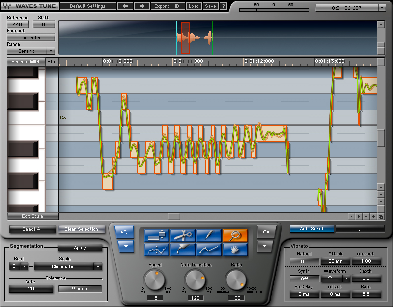 waves tune vocal pitch correction plugin waves