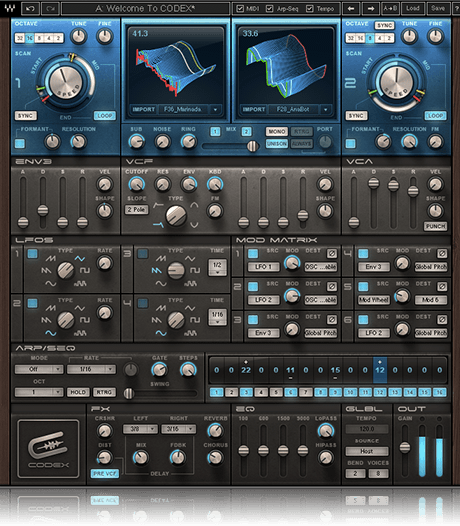 Codex Wavetable Synth