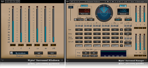 M360 Surround Manager & Mixdown