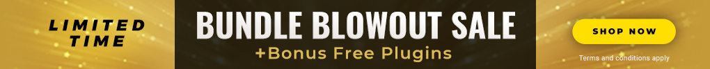 Limited Time: Bundle Blowout Sale + FREE Plugins