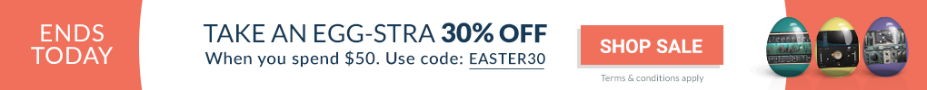 ENDS TODAY - Easter Sale 2019 - Extra 30% Off