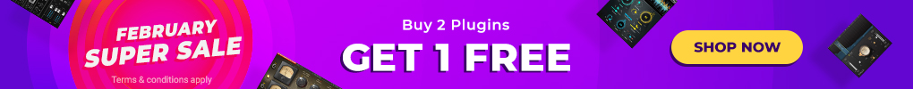 February Super Sale - Buy 2 Plugins Get 1 Free