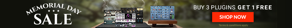 Memorial Day Sale - Buy 3 Plugins Get 1 Free!