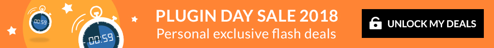 Plugin Day Sale 2018 - Unlock My Deals