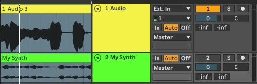 Create another track and record or input it with your instrument