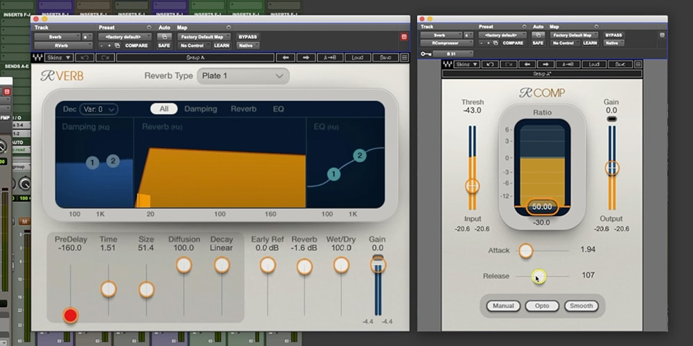 What are dynamic effects? How to use sidechain compression to make reverb and delay throws