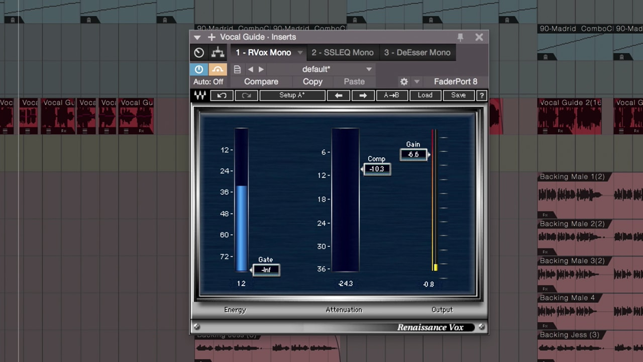 Mixing Vocals with Waves Plugins in Studio One – Dynamics