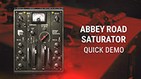 Abbey Road Saturator Plugin – Quick Demo