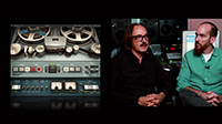 Butch Vig and Billy Bush on the Abbey Road J37 Tape Plugin