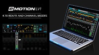 eMotion LV1 Tutorial 4.10: Mixer Window – Route and Channel Modes