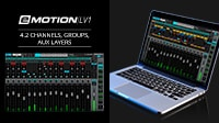 eMotion LV1 Tutorial 4.2: Mixer Window Layers – Channels, Groups, Aux