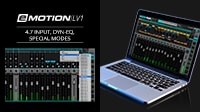 eMotion LV1 Tutorial 4.7: Mixer Window – Input, Dyn EQ, Special Modes