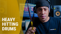Heavy Hitting Drums with Manny Marroquin's Plugins