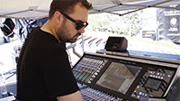 Mixing Jason Aldean Live with FOH Chris Stephens