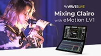 Mixing Clairo with the eMotion LV1 Live Mixer