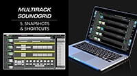 MultiRack SoundGrid Tutorial 5: Shortcuts