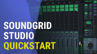 SoundGrid Studio Quickstart – Real-Time Audio Processing in Your Studio