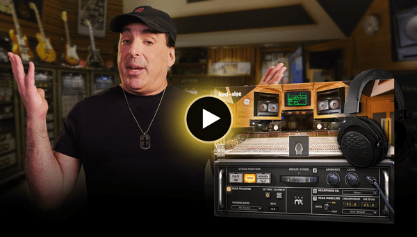Get a private tour with Chris Lord-Alge